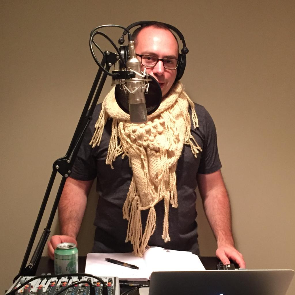 Bandana Rocks Knit scarf
