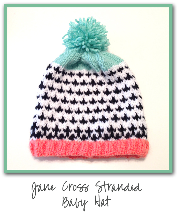Jane Cross Stranded Baby Hat