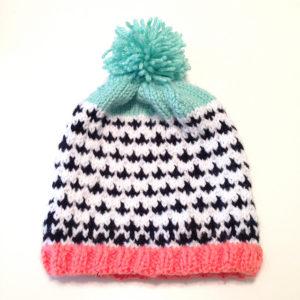 Jane Hat Hand Knit Pattern Kayleigh Kirkland