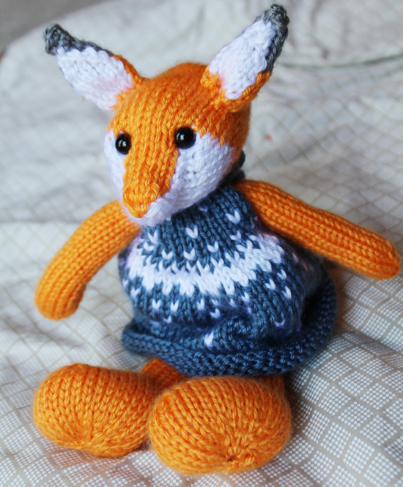 Little Cotton Rabbits Fox