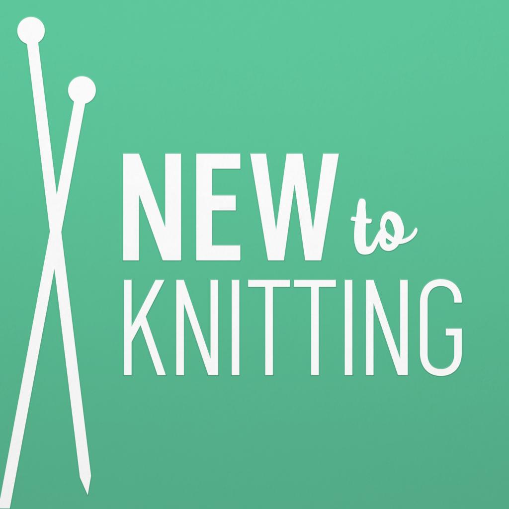 New To Knitting Logo